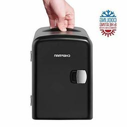 4L Electric Mini Travel Fridge Personal Cooler for Small Ite