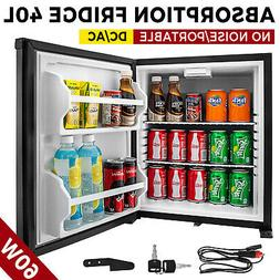 Absorption Mini Refrigerator 1.4cu.ft No Noise Library DC AC