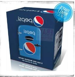 pepsi fridge 6 cans refrigerator new in