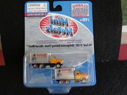 VINTAGE Mini Metals 54 FORD  F-700  REFRIGERATED DELIVERY TR